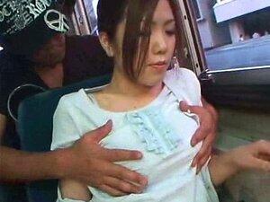 Mulher De Negócios Orgasmo Num Autocarro Porn