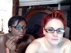 Vídeo Louco Da Webcam Com Cenas Lésbicas Inter-raciais, Porn