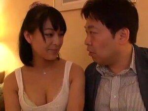 Japonês Com Tesão Puta Yuna Nakazato No Incrível BlowjobFera, Filme Facial JAV Porn