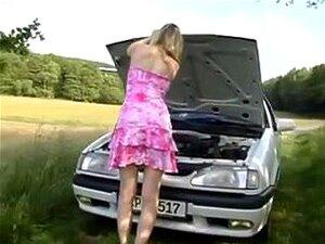 Hawt Beleza Alemã Leva Vara Grande Ao Ar Livre, Porn