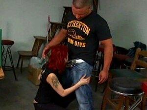 Ruiva Gata De Tatuagem Ficando Real Fodido Porn