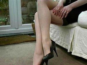 Milf Quente Fala Sobre Mens Fetiche Para Mulheres Elegantes Saltos Altos Sexual Porn