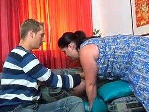 Alemão BBW E Jovem Rapaz. Porn