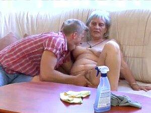 A Avó Recebe Massagem Vagina Porn