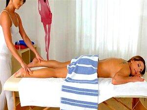 Massagem Mágica De Sapphic Erótica Sensual Porno Lésbica Com A Ally Porn