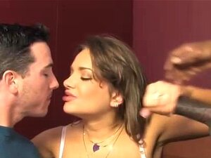 Interracial Slut Corno Chupa Pau Porn