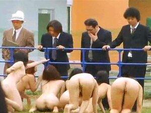 Estranho BDSM Japonês Escravos Blowjobs Grupo Ao Ar Livre Porn