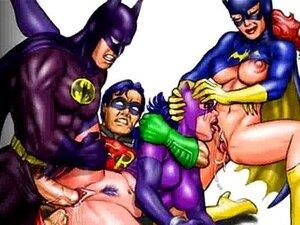 Cavaleiro Das Trevas Batman E Mulher-gato Xxx Paródia Porn